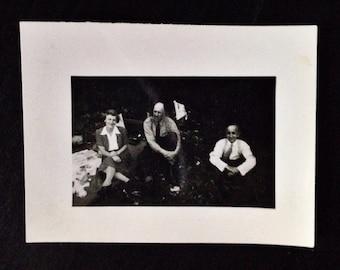 Original Antique Photograph Telling Stories