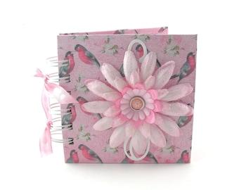 Robin Talk Gratitude Book, gratitude journal, thank you book, thank you journal, gratitude diary, blessings book - blush pink
