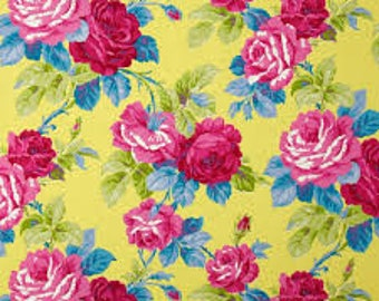 Designer Fabric - Jennifer Paganelli Good Compnay Isabelle Canary Fabric