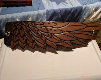 Feather Wrist Cuff