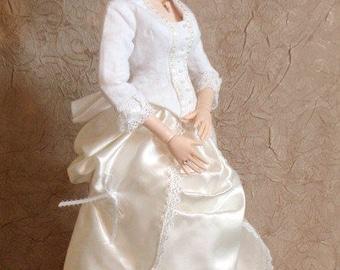 SJD Doll 1880's Period Style Dress