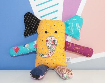 Cute stuffed animal, elephant plushie