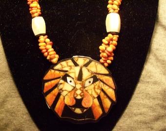 Vintage 22 inch Statement Necklace
