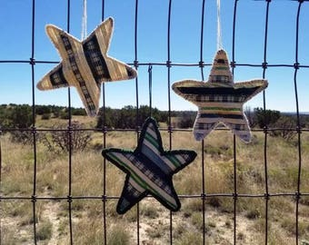 Grouping of Green Star Christmas Ornament (sold separately)