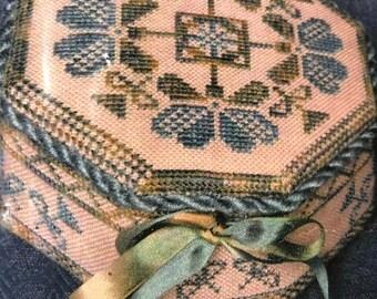 MAYniaSALE Cherished Stitch, A Cherished Box, Counted Cross Stitch Pattern