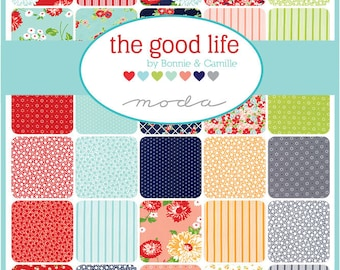 The Good Life Fat Eighth Bundle by Bonnie and Camille for Moda Fabrics