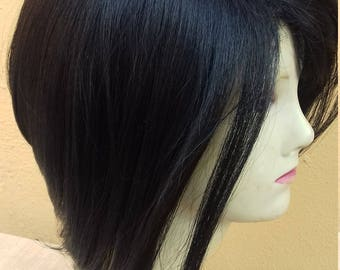 Short synthetic wig heat resistant