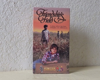VHS Movie: FRIENDSHIP'S FIELD, A Place Where Kindness Triumphs over Differences, Family Film.