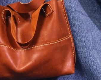 Mothers Day, Leather Tote, Sling Bag, Handheld Bag, Shoulder Bag, Hand Stitched Bag, Gift Ideas For Women, Leather bag, Women Leather Bag