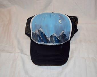Wasatch Moonlight - Trucker Hat