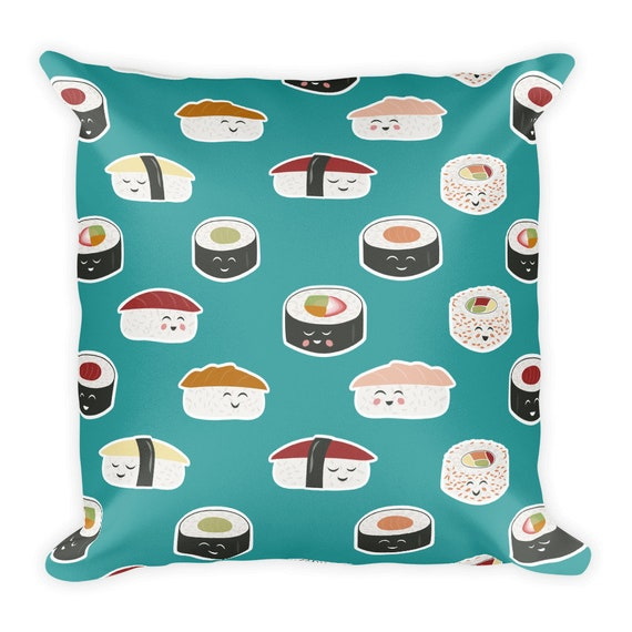 Happy Sushi Pillow