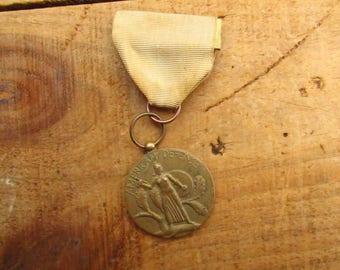 Vintage WWII Medal - American Defense WWII Medal
