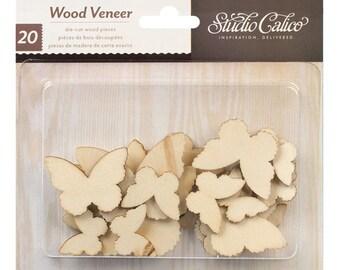 035 - Wood Veener - Schmetterlinge
