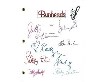 Bunheads Movie Script Signed Screenplay Autographed: Sutton Foster, Kaitlyn Jenkins, Julia Goldani Telles, Bailey Buntain, Emma Dumont