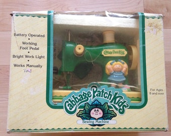 Vintage Cabbage Patch Sewing Machine 80s RARE