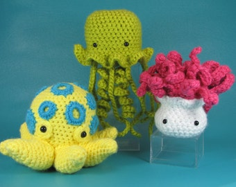 Darling But Deadly - PDF amigurumi crochet pattern