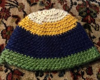 Multi-color Knit Beanie