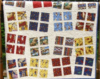 SPRING PATTERN SALE - Dancing Patchwork by Carlene Westberg