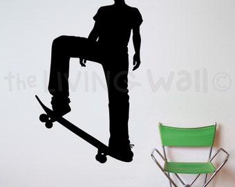 Skateboard Wall Art, Skateboard Stickers, Skateboard Decals, Skate Decor, Skate Decals, Skateboarding Sticker, Skate Stickers, Skate Home