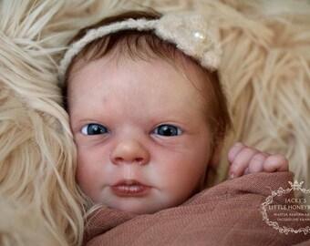 CUSTOM REBORN BABY ~ Ana Awake By Realborn ~ 6 month layaway