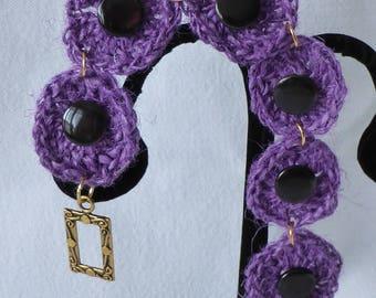 crochet handmade jute yarn