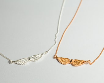 Wings Necklace Sterling Silver 925,
