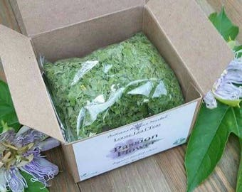 Organic Passion Flower Herb, Organic Loose Leaf Tea Herb, Passionflower Leaf, Insomnia Herb, Herbal Tea, Organic Dried Herbs, Boxed Tea