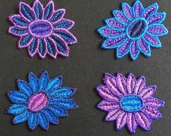 Applied 4 applied, applied flower, flower, Joce150652creaconcep applied, applied purple, blue, black, multicolor