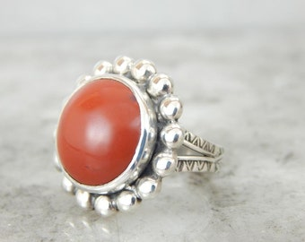 Russet Jasper And Southwestern Usa Sterling Silver Ring PNJU6Y-P