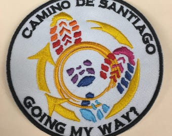 Camino de Santiago - Going My Way? Cloth patch - Clothing
