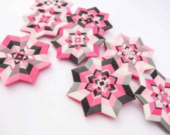 Polymer clay tutorial - Mandalas and bonus - hexagons!