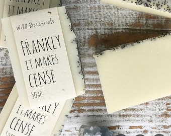 Frankly it makes cense Soap,  Frankincense soap