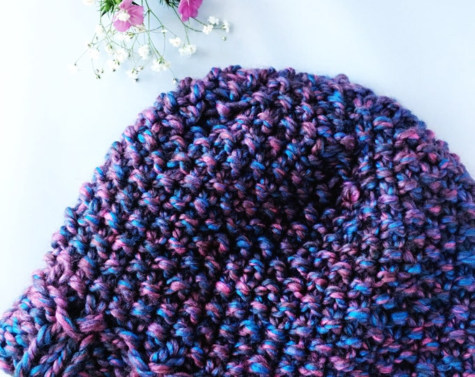 Satin Lined Knitted Beanie // Style // Shepiji Seedy