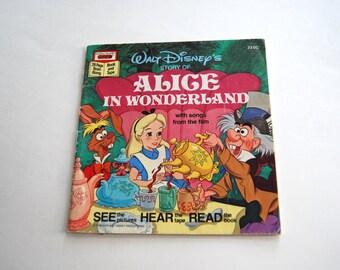Vintage Walt Disney's Story of Alice in Wonderland