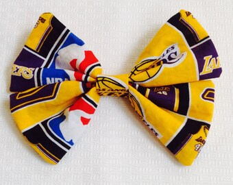 Lakers Fabric Bow
