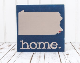 State Sign - Wood Sign - Custom State Sign - Home State Sign - Wood State Sign - Home Sign - State Signs - Wood Signs - Rustic State Sign