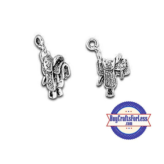 COWBOY SADDLE Charms, 4pcs-Very Cute for Bracelet, Earrings or Pendant +FREE SHiPPiNG +Discounts*