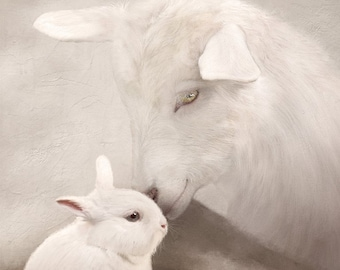 Goat and Bunny