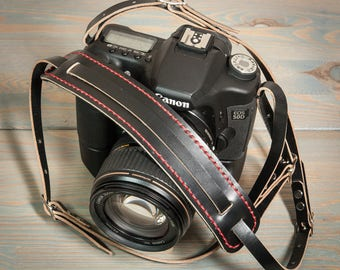 Universal fit English Bridle Leather Camera Strap.
