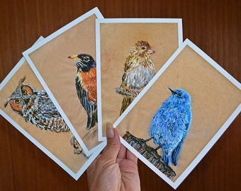 Buy 3 - 5x7 Color Giclee Art Prints, Get One Free