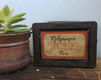 Vintage Ridgeway's English Tea Tin