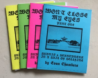 Won't Close My Eyes by Evan Chambers (limited to 25 packs of 4)