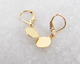 Delicate Gold Drop Earrings - Gifts for her, Gift for women, Dainty Earrings, Drop Earrings, Gold Earrings, Delicate Earrings, UK Jewellery