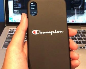 New Iphone X Champion Case Black