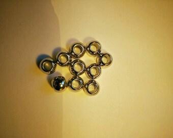 Simple round plastic beads