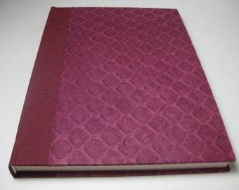 Handbound Journal Diary Notebook Blank Paper