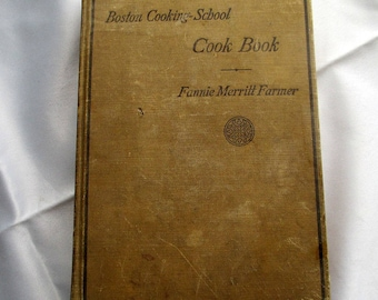 Boston Cooking School Cook Book, 1923 Cook Book, Fannie Farmer Cook Book, Edwardian Cook Books, Downton Abbey Cook Book, Boston Cook Book