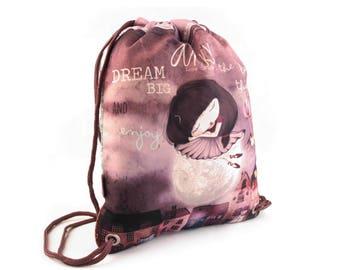 Beautiful gym bag LUISE from Anekke