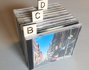 Vertical CD Dividers - High Quality Birch Plywood  - 26 piece set - Laser cut