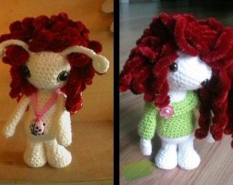 Amigurumi Doll & Ladybug Doll Pattern